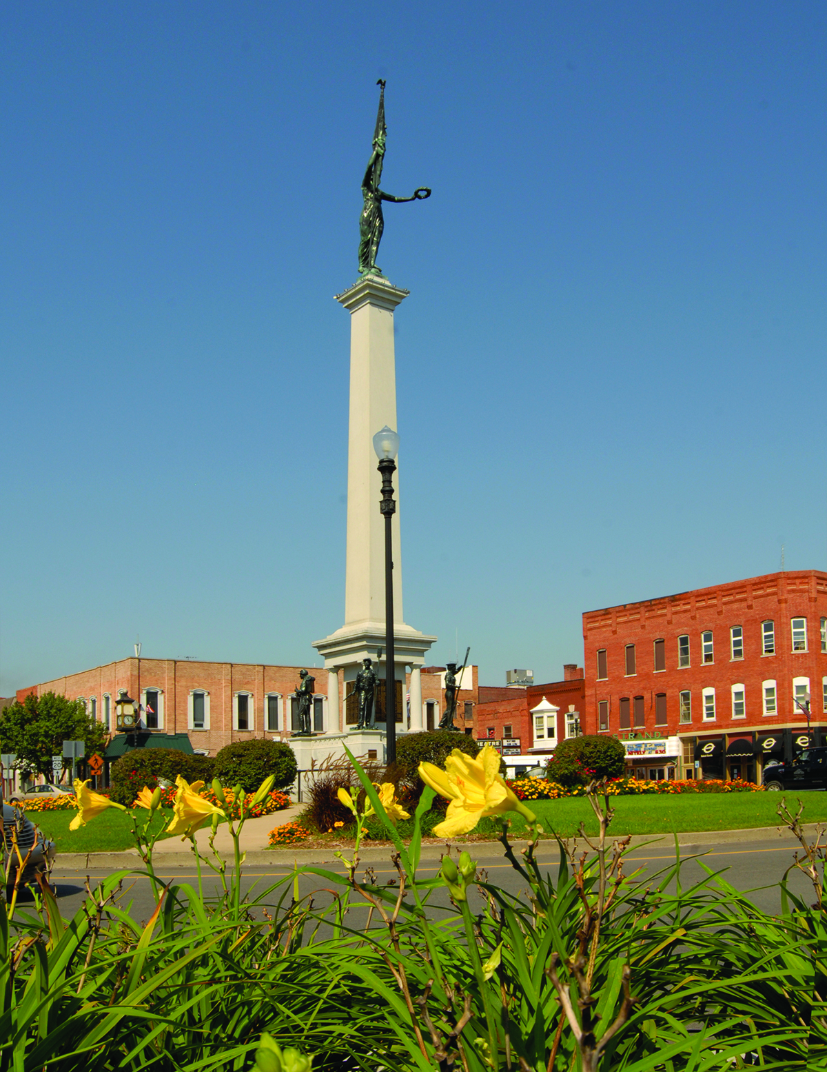 Downtown Angola - The Mound