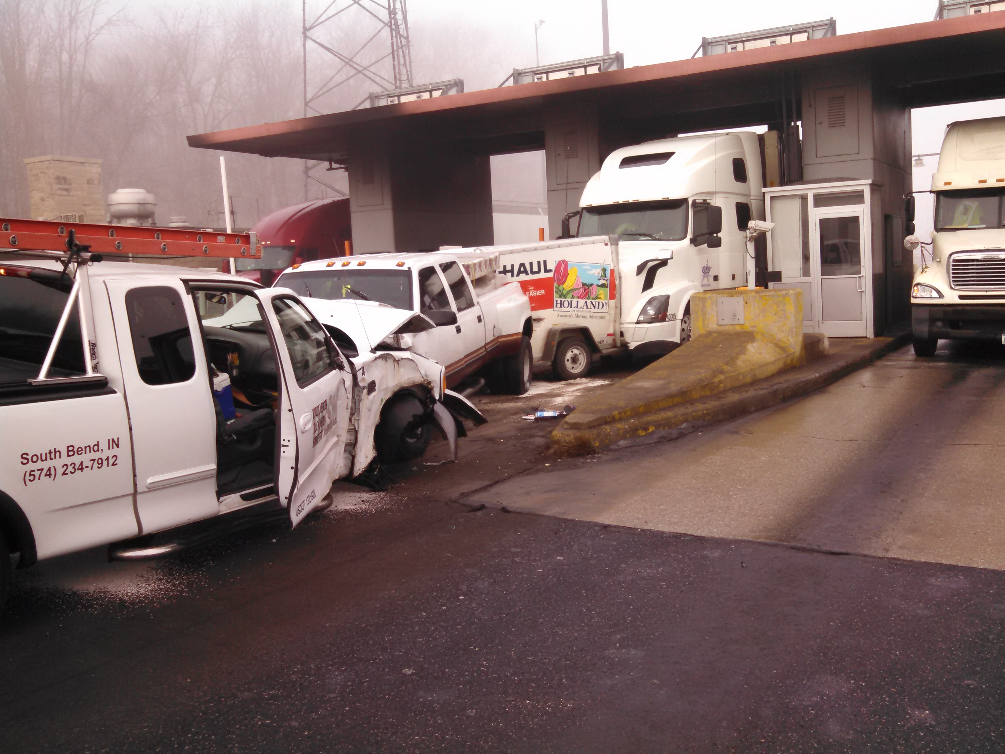 Document Center / Toll Road Crash / City of Angola, Indiana