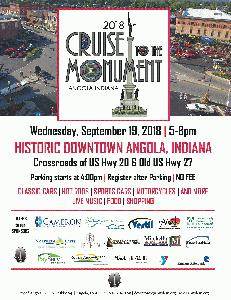 Cruise to the Monument Flyer 2018